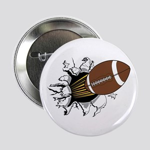 "Football Burster 2.25"" Button"