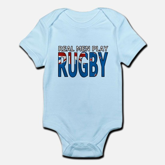 New Zealand real rugby Infant Bodysuit