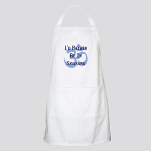 Rather Be In Savasana Apron