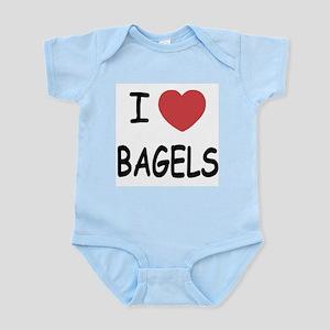 I heart bagels Infant Bodysuit