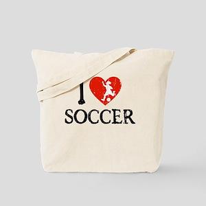 I Heart Soccer - Girl Tote Bag