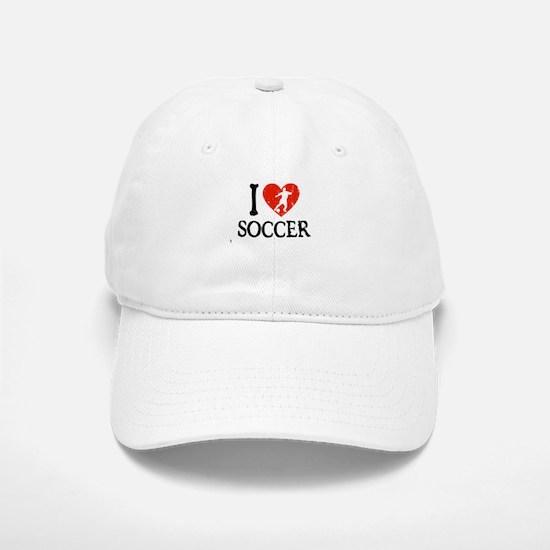 I Heart Soccer - Guy 2 Baseball Baseball Cap