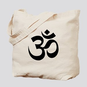 Yoga Om Tote Bag