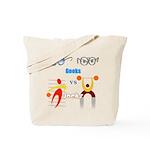 Geeks vs. Jocks I Tote Bag