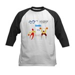 Geeks vs. Jocks I Kids Baseball Jersey
