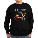 Geeks vs. Jocks I Sweatshirt (dark)