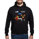 Geeks vs. Jocks I Hoodie (dark)