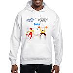 Geeks vs. Jocks I Hooded Sweatshirt