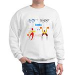 Geeks vs. Jocks I Sweatshirt
