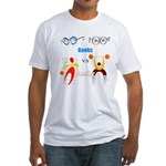 Geeks vs. Jocks I Fitted T-Shirt