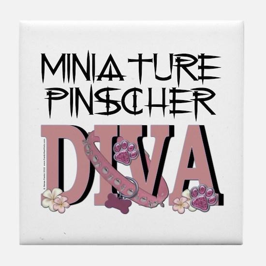 Min Pin DIVA Tile Coaster