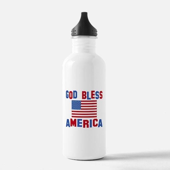 Cute God us Water Bottle