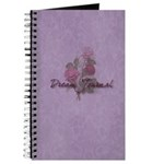 Purple and Roses Dream Journal