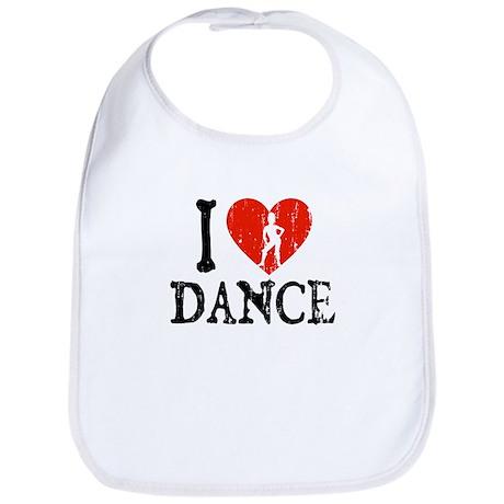 I Heart Dance 2 Bib
