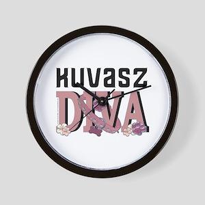 Kuvasz DIVA Wall Clock
