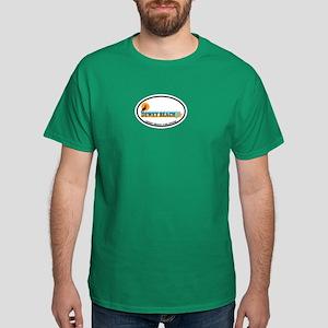 Dewey Beach DE - Oval Design Dark T-Shirt