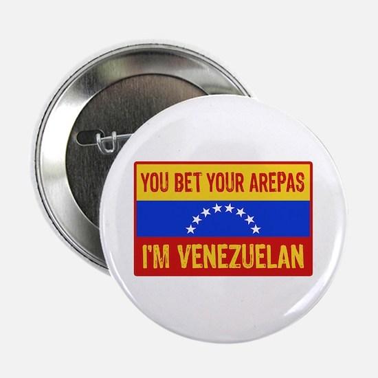 """Funny Venezuelan 2.25"""" Button"""
