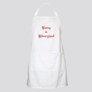 Living in Libraryland BBQ Apron