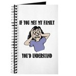 If You Met My Family Journal