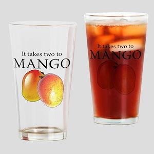 Mango Drinking Glass