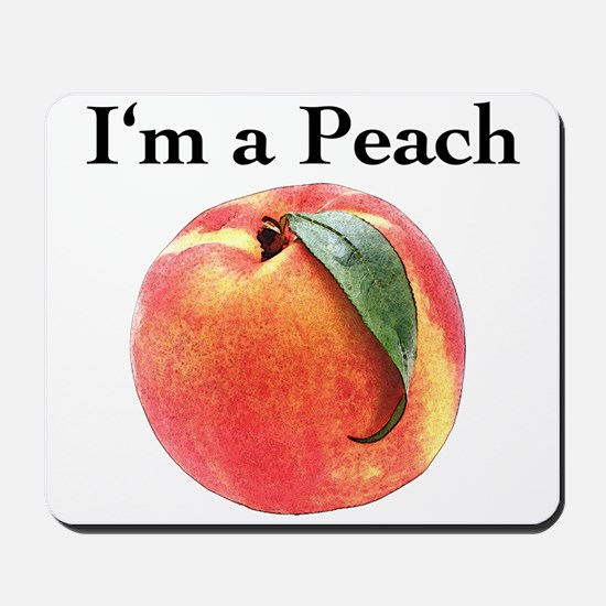 Peach Mousepad