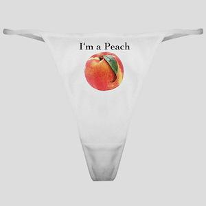 Peach Classic Thong
