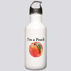 Peach Stainless Water Bottle 1.0L