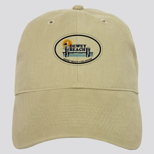 Dewey Beach DE - Oval Design Cap