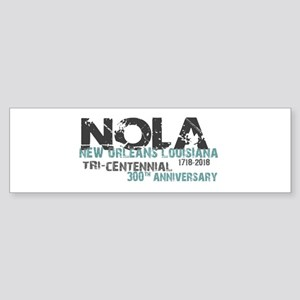 New Orleans, NOLA, Tri-Centennial Bumper Sticker