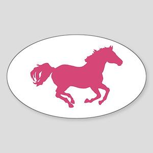 Equestrian Sticker (Oval)