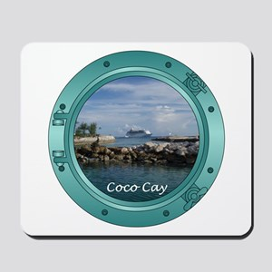 Coco Cay Cruise Ship Mousepad