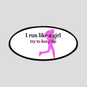 I Run Like a Girl Patches