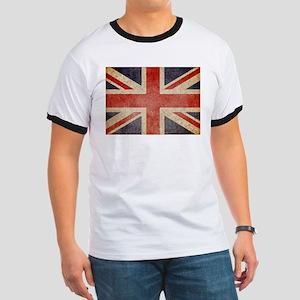 UK Faded Ringer T