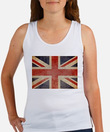 UK Faded Women's Tank Top