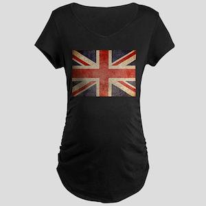 UK Faded Maternity Dark T-Shirt