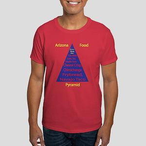 Arizona Food Pyramid Dark T-Shirt