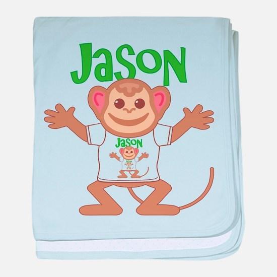 Little Monkey Jason baby blanket