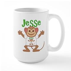 Little Monkey Jesse Large Mug
