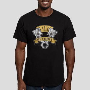 Piston Design Men's Fitted T-Shirt (dark)