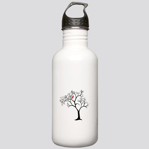 Cardinal in Snowy Tree Stainless Water Bottle 1.0L
