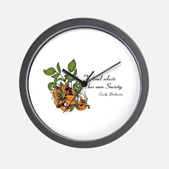 Soul Selects Terracotta Wall Clock