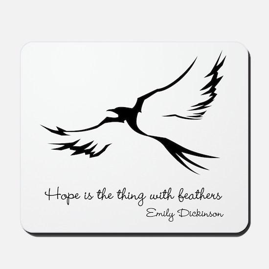 Feathered Hope Mousepad