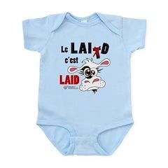 Le Lait c'est laid - Infant Bodysuit