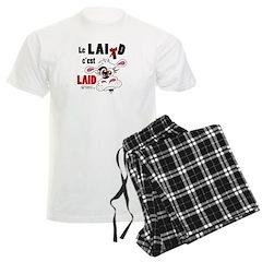 Le Lait c'est laid - Men's Light Pajamas