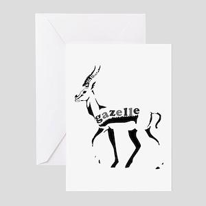 Gazelle Greeting Cards (Pk of 10)