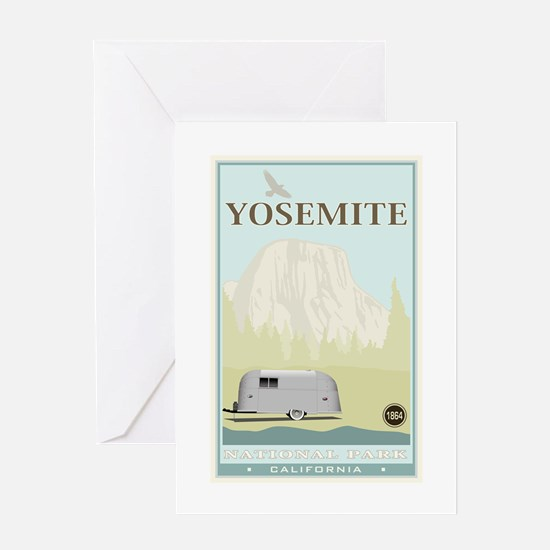 National Parks - Yosemite Greeting Card