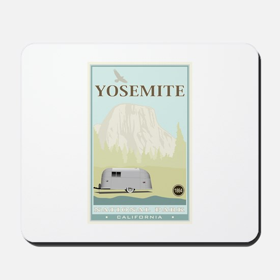 National Parks - Yosemite Mousepad