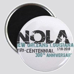New Orleans, NOLA, Tri-Centennial Magnets