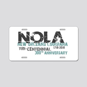 New Orleans, NOLA, Tri-Cent Aluminum License Plate