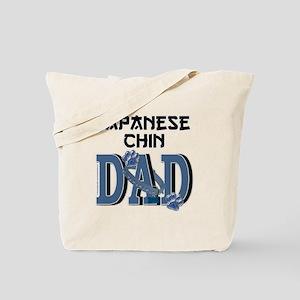 Japanese Chin DAD Tote Bag